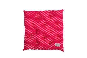 Chair cushion with filler polka dot 40_40 cm