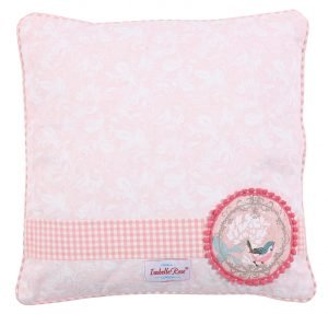 Cushion White flowers 40x40 cm Isabelle Rose