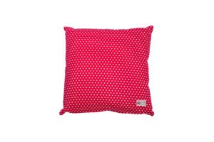 Cushion cover with filler polka dots 45_45 cm