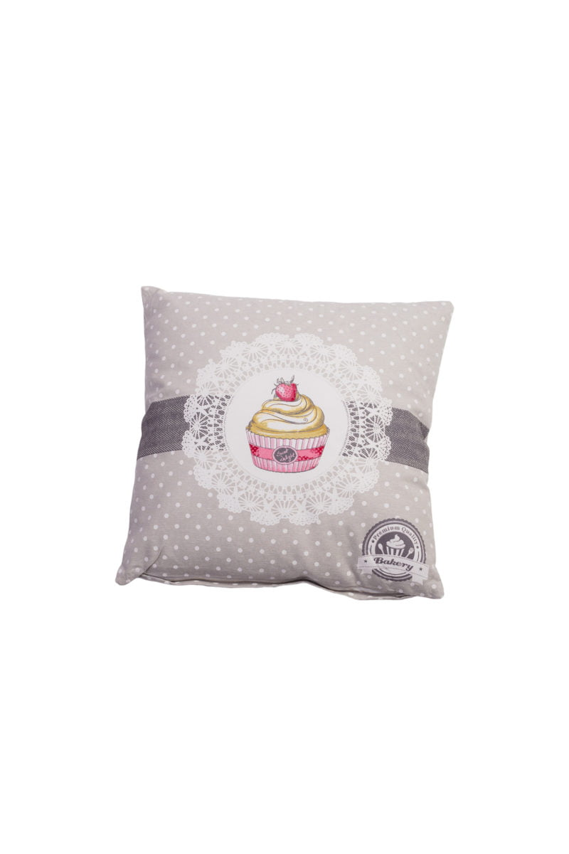 Cushion with filler Sweet cupcake Isabelle Rose 40x40 cm