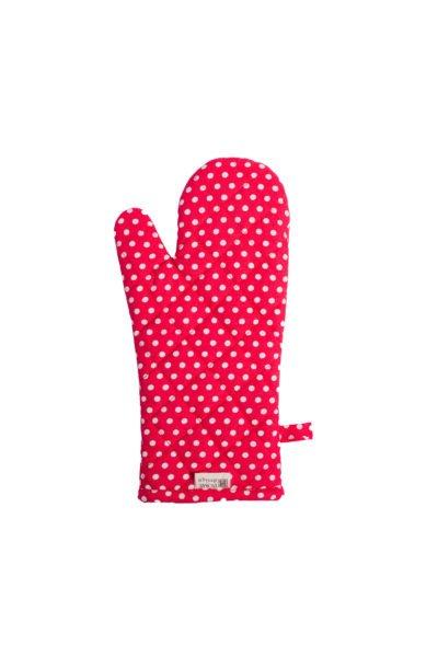 Glove polka dot 18_33 cm