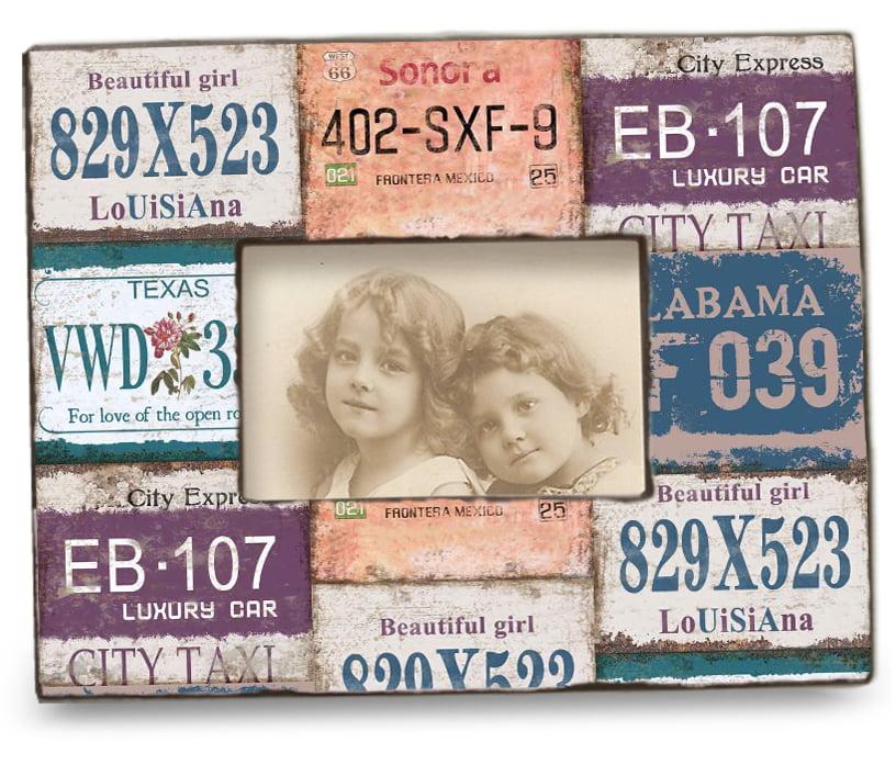 Photo frame Car plates 28x23 cm
