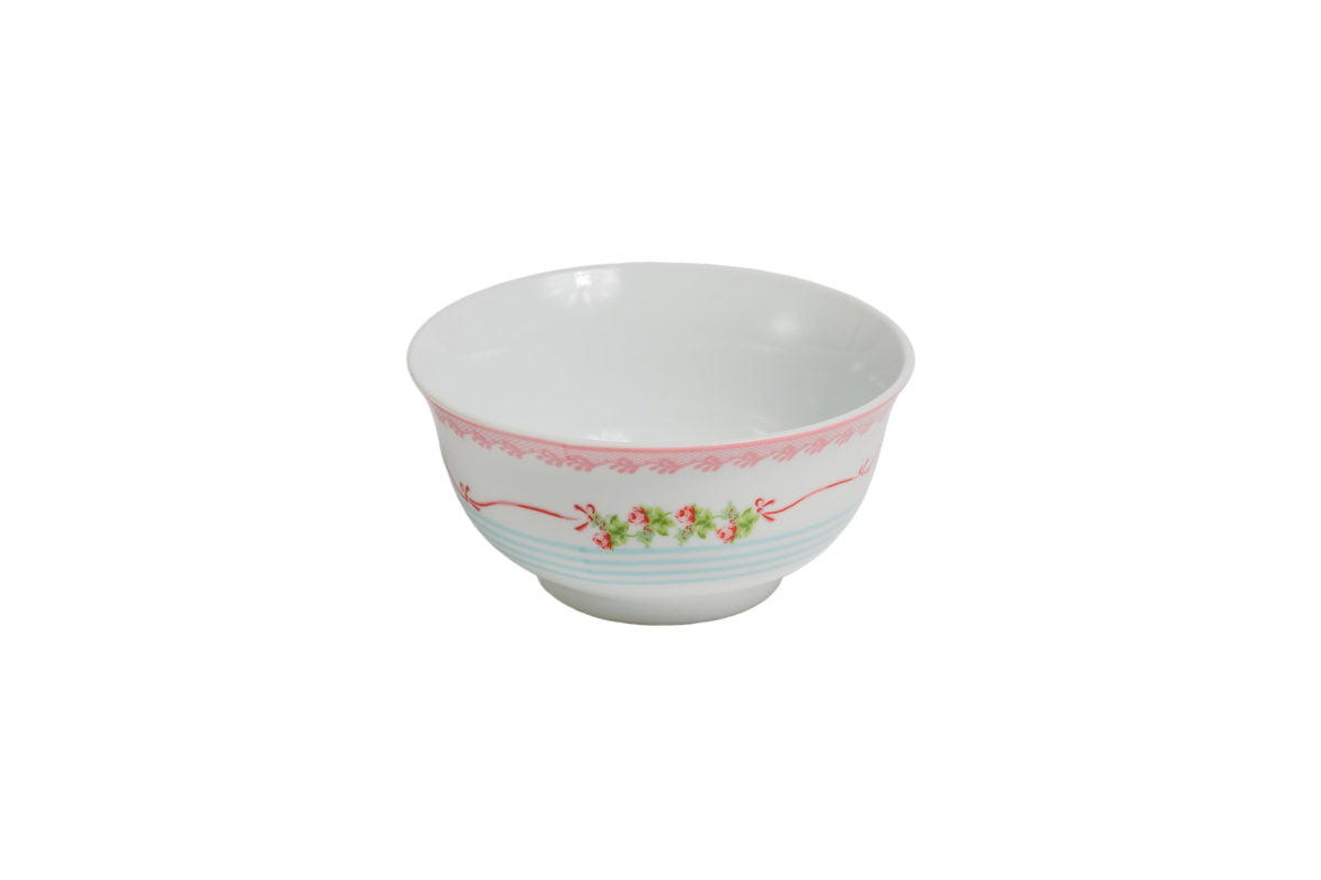 Porcelain bowl Azalea Rose decor dia: 14 cm