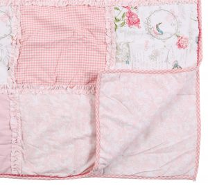 Quilt Patch work pink 180x260 cm Isabelle Rose