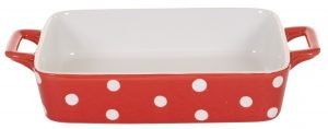 Red small dish with dots Isabelle Rose
