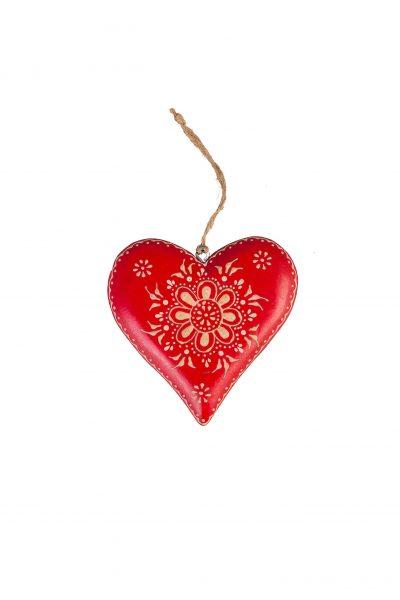 Wooden heart L
