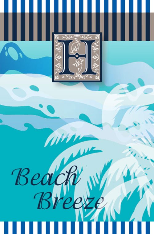Beach breeze air freshener - Made in the U.K.