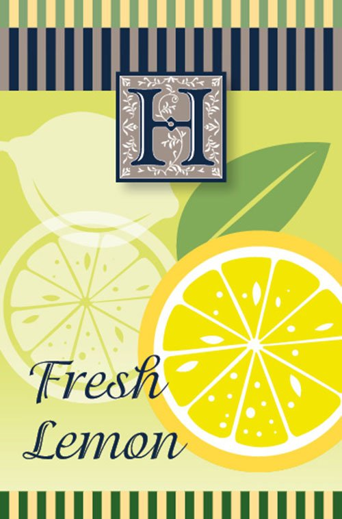 Fresh lemon air freshener - Made in the U.K.