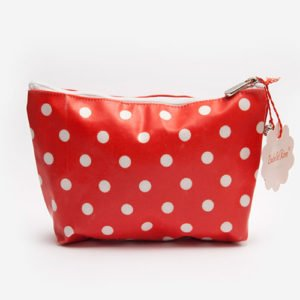 Maxi make up bag Dots washed