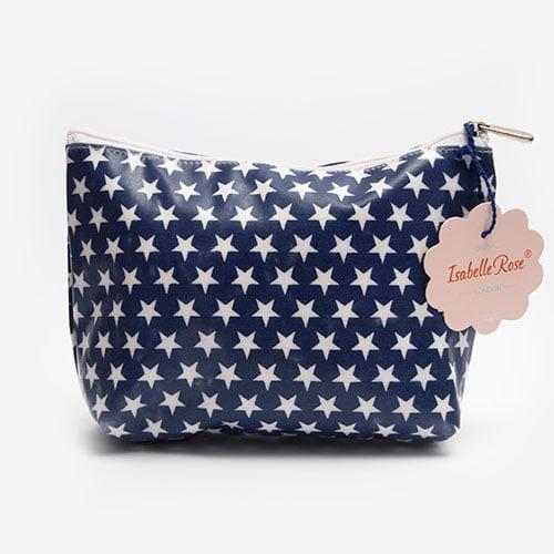Maxi make up bag Stars washed