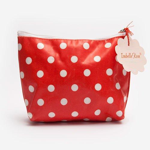 Midi make up bag Dots washed