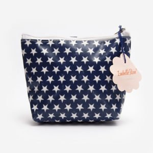 Midi make up bag Stars washed