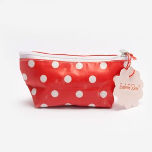 Mini make up bag Dots washed