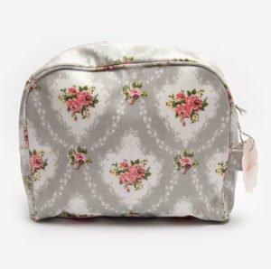 Travel make up bag Flowers