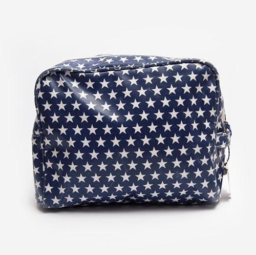 Travel make up bag Stars washed