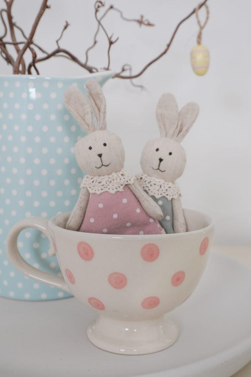 Handmade ceramics mugs with roses